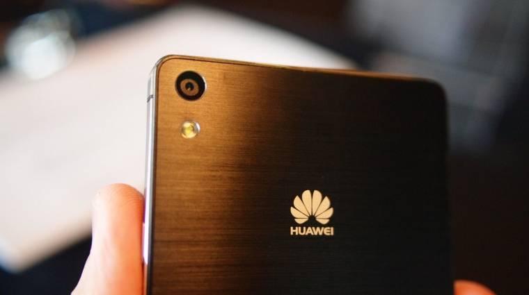 A világ harmadik legnagyobb mobilgyártója lett a Huawei kép