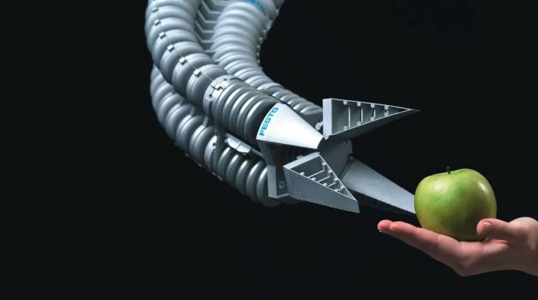 Gyerekmódra tanul az okos robotkar kép