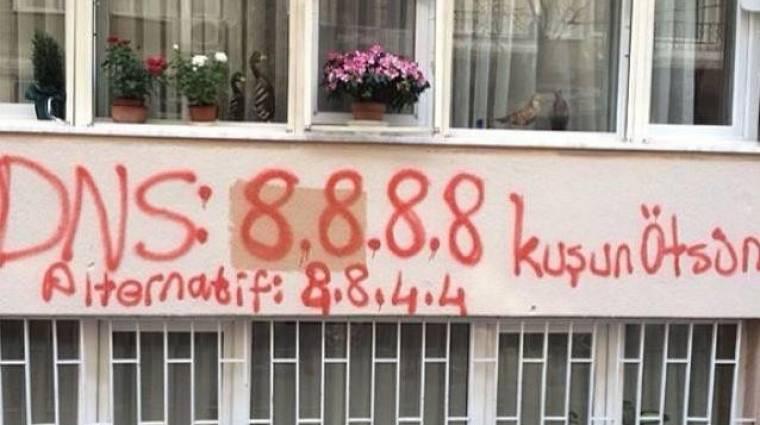 Blokkolta a Google DNS-t a török kormány kép