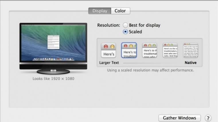 Végre boldogul a 4K-val az OS X Mavericks  kép