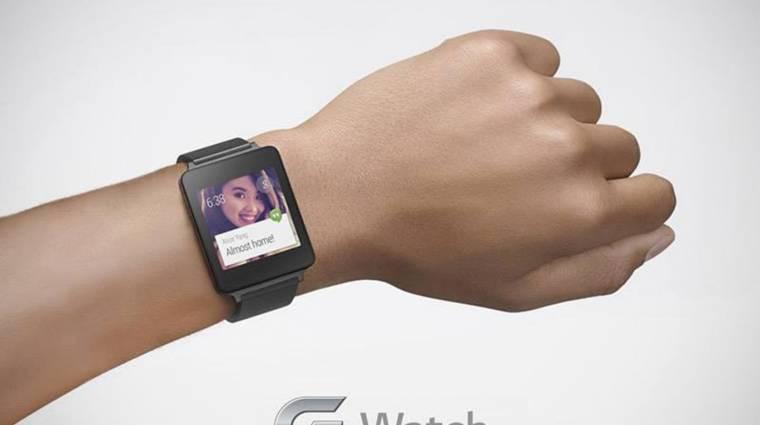 Újabb kép az LG G Watch okosórájáról kép