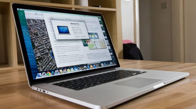 Nem lesz többé Retina nélküli MacBook Pro kép