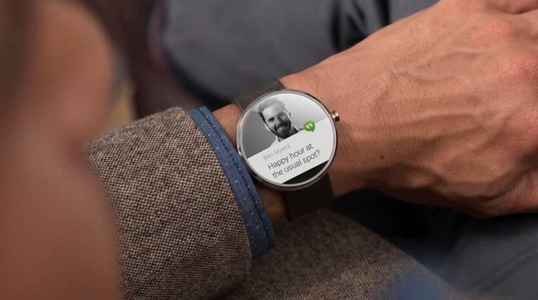 Nehéz lesz szerezni a Motorola elképesztő okosórájából kép