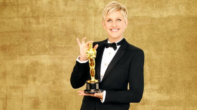 Ellen DeGeneres rekordot döntött a Twitteren kép