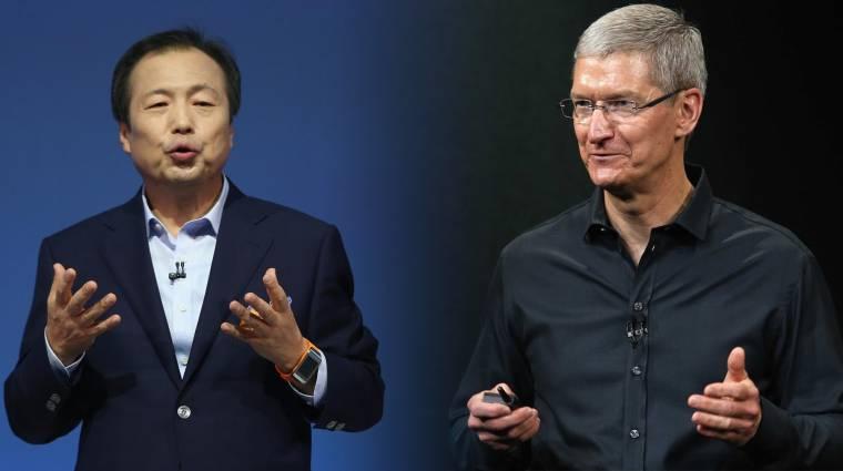 A Samsung főnöke többet keres Tim Cooknál kép