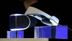 Saját VR-sisakot mutatott be a Sony kép