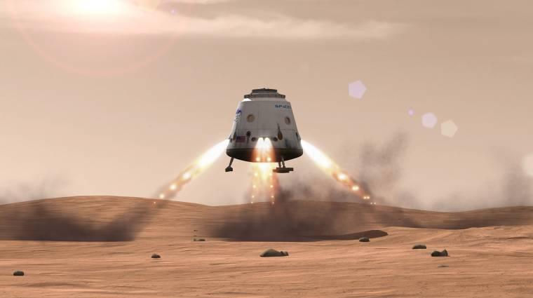 A Space X a Mars-kutatásba is beszállhat kép