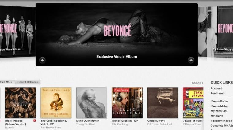 Exkluzív zenékkel újítana az iTunes kép