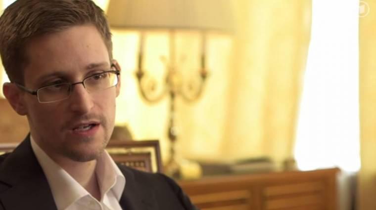 """Snowden: """"Újra megtenném"""" kép"""