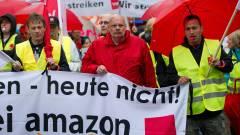 Megint sztrájkolnak az Amazonnál kép