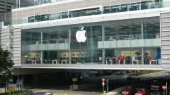 Pezsgőt bonthatnak az Apple befektetői kép
