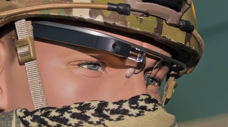 A Google Glasst teszteli az amerikai hadsereg kép