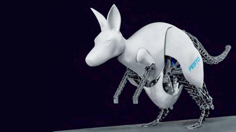 Itt a világ első robotkenguruja kép