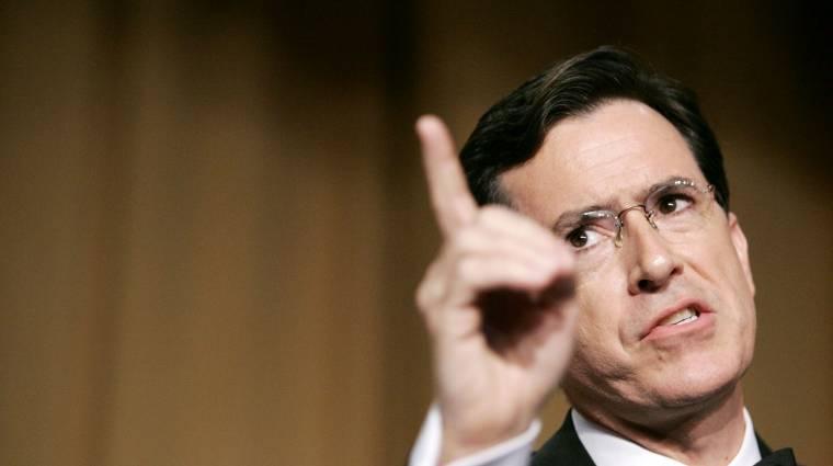 Stephen Colbert lesz a Late Show új házigazdája kép