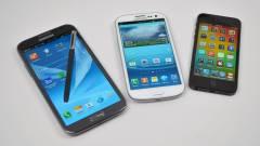 A nagyképernyős Androidoktól retteg az Apple kép