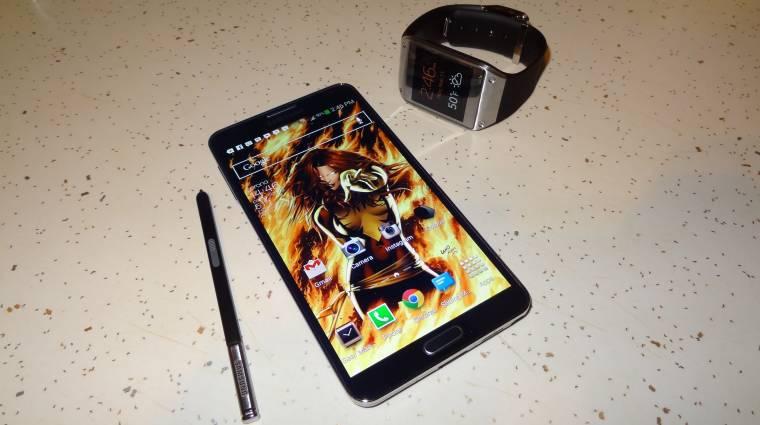 Csúcsfelbontást kap a Samsung Galaxy Note 4 kép