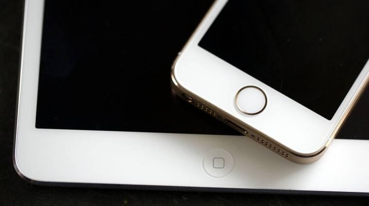 Végre ujjlenyomat-olvasót kaphatnak az iPadek kép