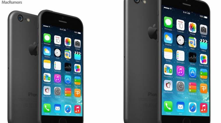 Ekkora lesz az iPhone 6 kép