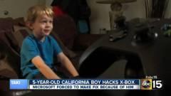 Ötéves kisfiú kerülte ki az Xbox One védelmét kép
