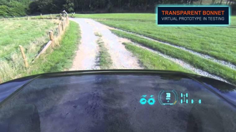 """Itt a világ első """"átlátszó"""" autója kép"""