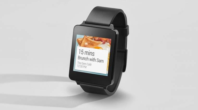 Júniusban jön az LG androidos okosórája kép