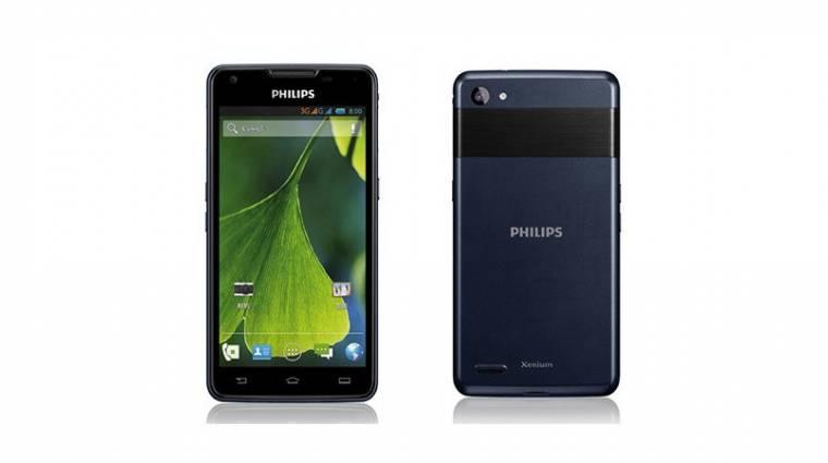 2 hónapig mehet egy töltéssel a Philips okostelefonja kép