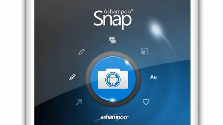 Hogyan készítsünk testre szabott képernyőfotót Androidon? kép