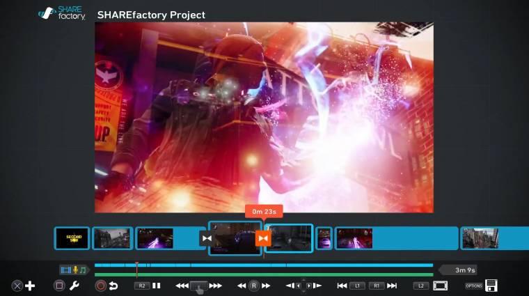 Videót is lehet majd vágni a PlayStation 4-gyel kép