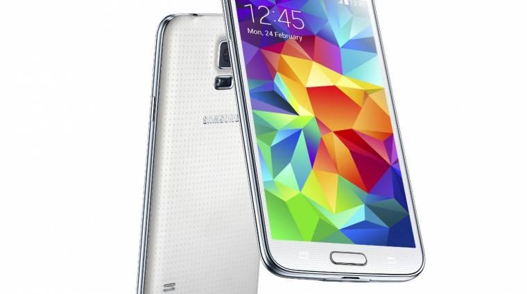Holnaptól kapható itthon a Samsung Galaxy S5 kép