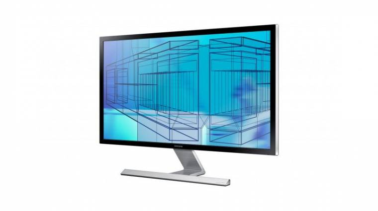 Relatíve kedvező árú 4K-s monitor a Samsungtól kép