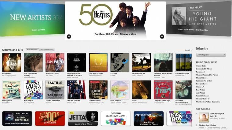Teljesen átszabják az iTunes zeneáruházát kép