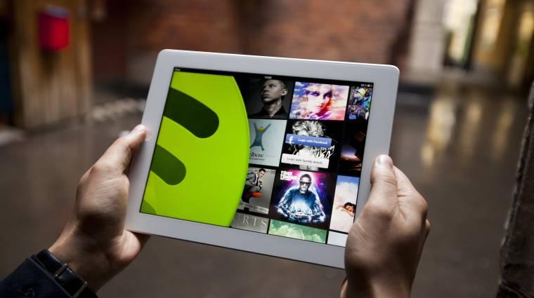 A Spotify maga alá gyűri Európában az iTunest kép