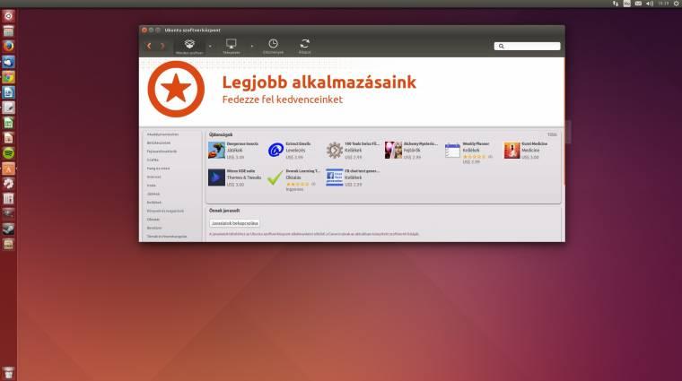 Meggyőzőre sikerült az Ubuntu 14.04 LTS kép