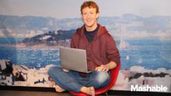 Mark Zuckerberg panoptikumi bábu lett kép