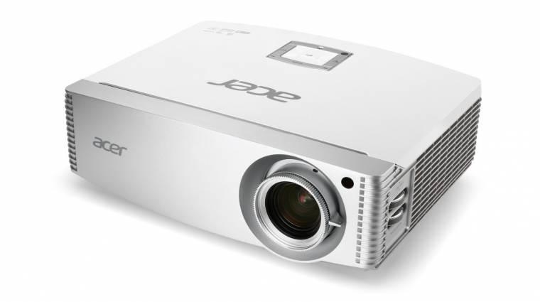 Üzleti és otthoni projektorok az Acertől kép