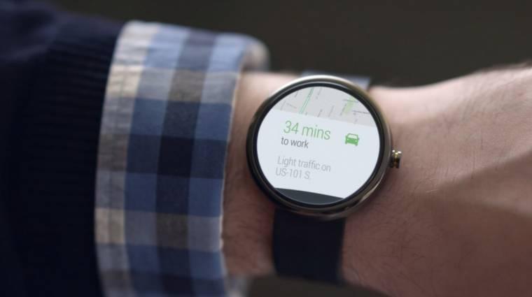 Az HTC is kerek okosórát akar kép