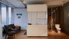 CityHome: szűk helyekből tágas szoba kép