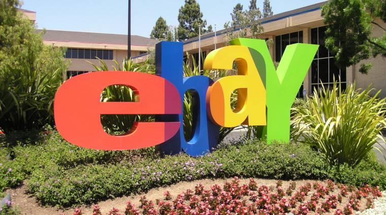 Feltörték az eBayt, ajánlott az azonnali jelszócsere kép