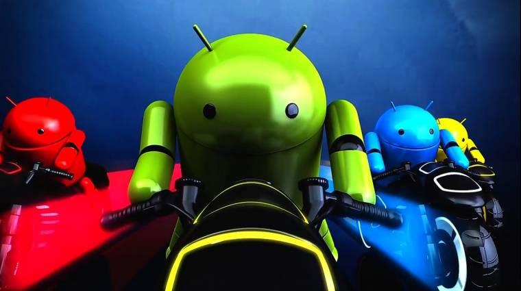 Felpörgetett mobileszközök: Android-gyorsítás kép