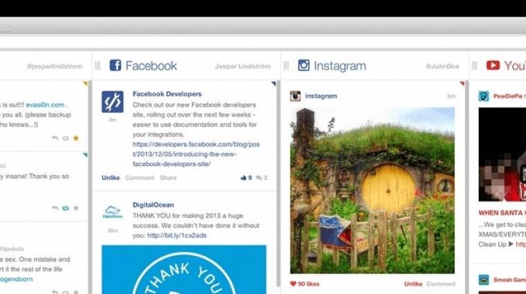 Hogyan böngésszük egyszerre a Twittert és a Facebookot? kép