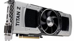 Csúszik a GeForce GTX TITAN-Z kép