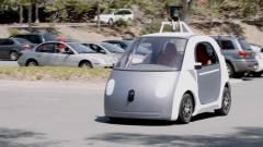 Saját önvezető autót készített a Google kép