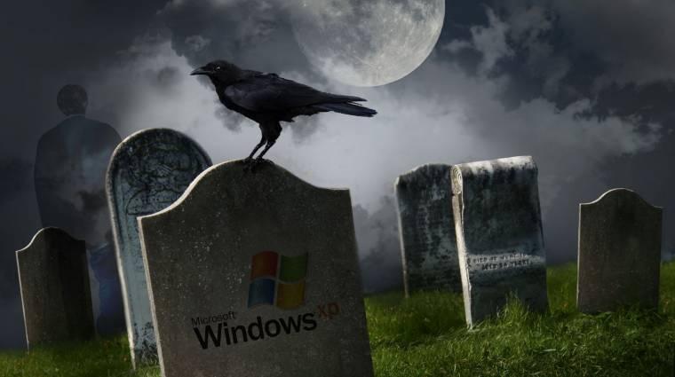 Nyugdíjas korában is népszerű a Windows XP kép