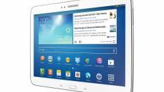 Prémium, ujjlenyomat-olvasós táblagépeken dolgozik a Samsung kép
