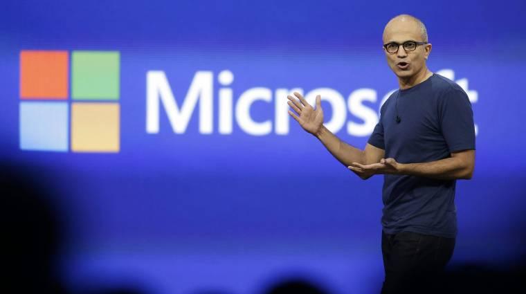 Microsoft: jövőt építeni kell, nem vásárolni kép