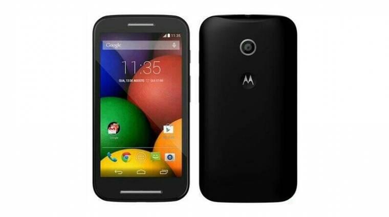 Kiszivárgott az olcsó Motorola Moto E kép