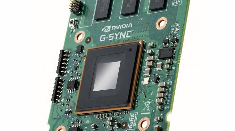 Úgy tűnik halott az NVIDIA G-Sync kép