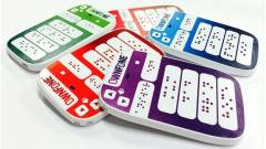 Kapható a világ első Braille-írásos mobilja kép