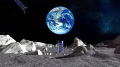 Az első hirdetés a Holdon kép