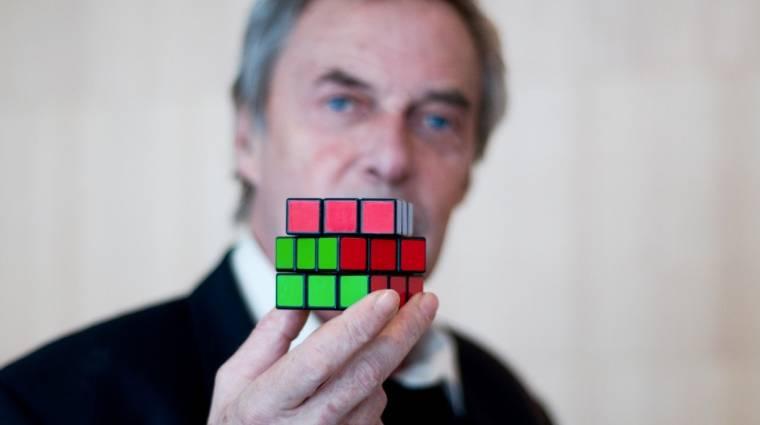 A Google is megemlékezik a 40 éves Rubik-kockáról kép